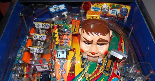 the funhouse pinball game
