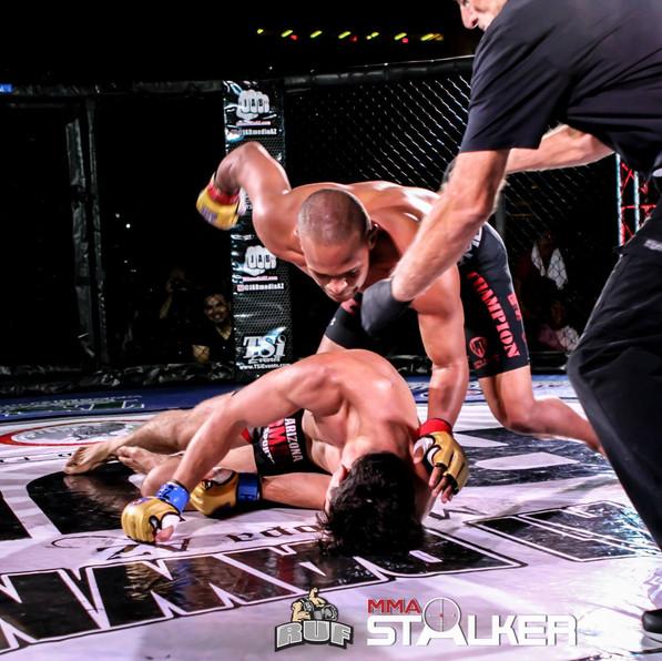 LIGHTS OUT KO at RUF MMA