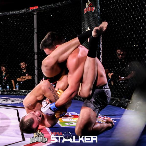 "Ringside Unified Fighting RUF MMA - Ed ""Wild"" West Armbar RUF 27"