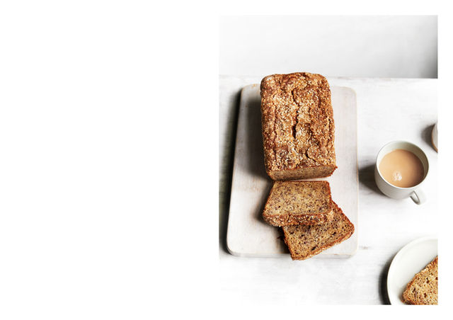 Banana Loaf with Sesame