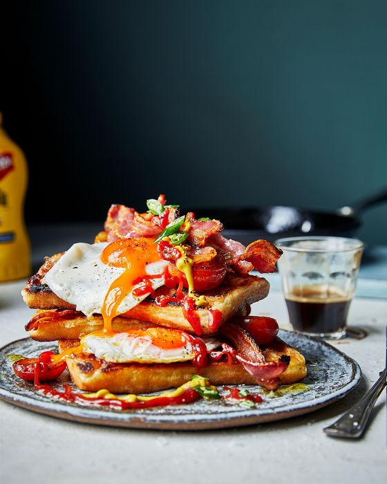Big Breakfast Waffle