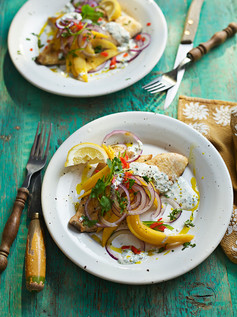 Mustard Fish and Mango Chilli Chow with
