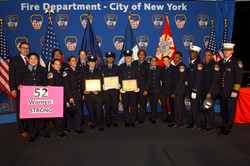 FDNY welcomes three women to its ran