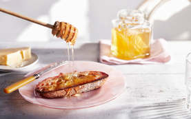 Drizzly Honey On Toast