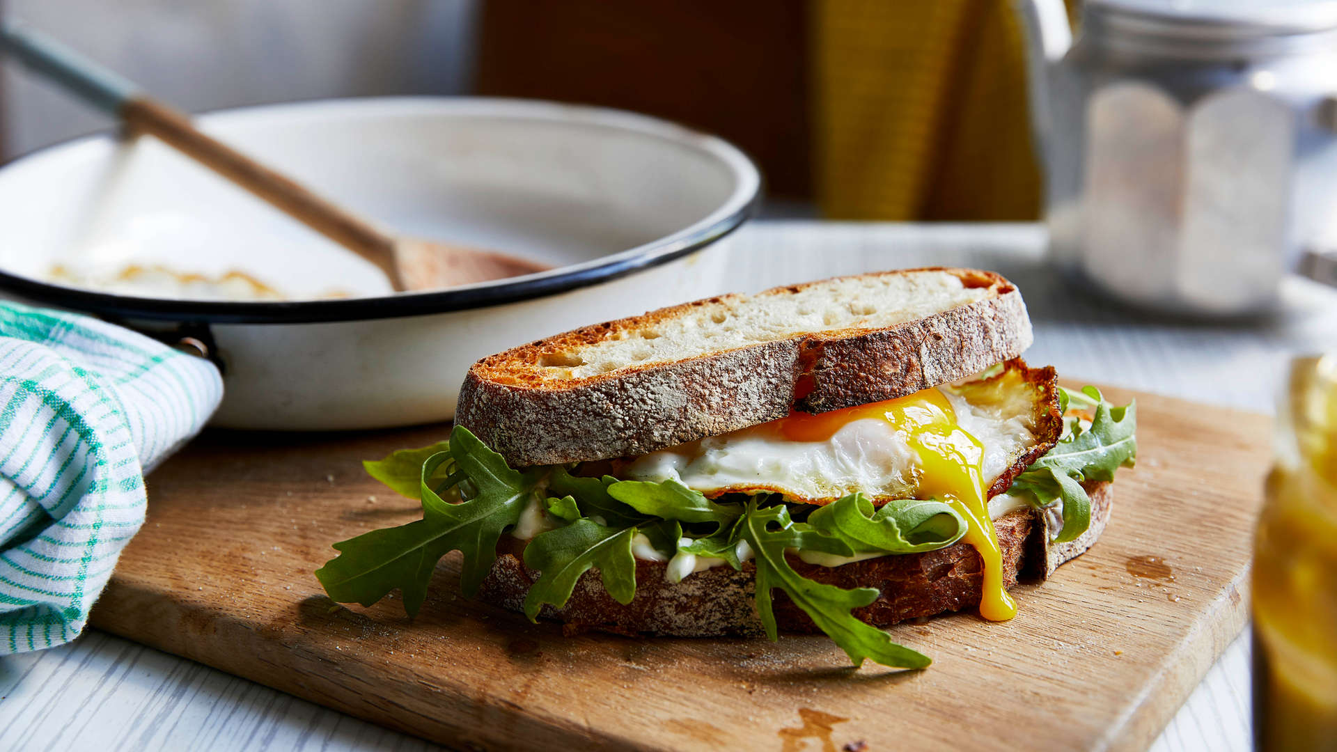 Everything I Know About Love - Fried Egg Sandwich