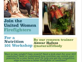 United Women Firefighters Nutrition Workshop