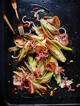13.Joe Wicks Book chicory salami salad 2