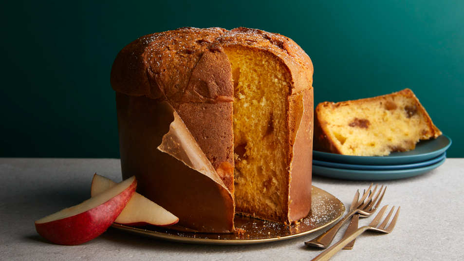 Pear, Rum and Chestnut Panettone