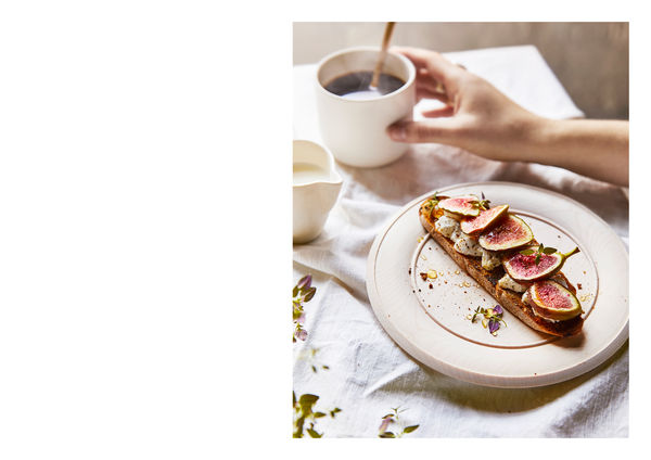 Fig Toast with Honey and Thyme