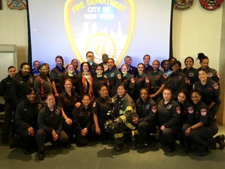 United Women Firefighters Co-Host Woman Firefighter for a Day Event