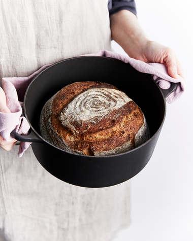 Sourdough Loaf In Pot