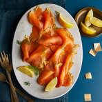 Heston's Lemon Gin Smoked Salmon