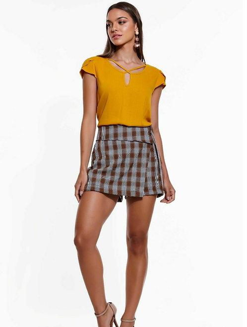 Shorts Saia Tweed Glam Ref 43610