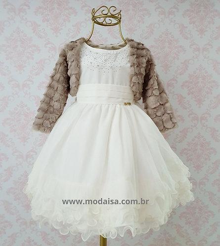 Vestido Menina Bonita Chic Noite Cod 18001