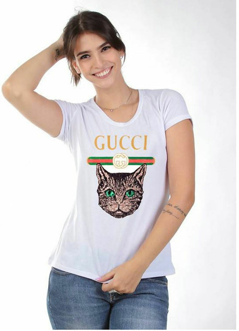 T Shirt Gato Modaisa RefGR376161
