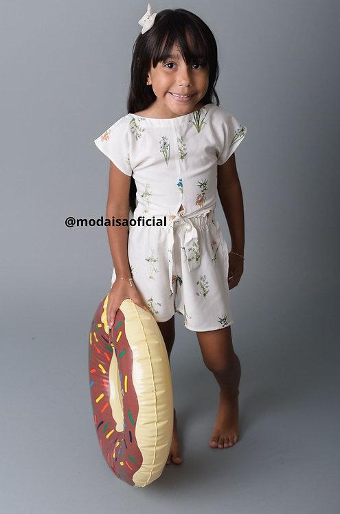 Conjunto Blusa e Shorts Bali Zaamer Ref G0184