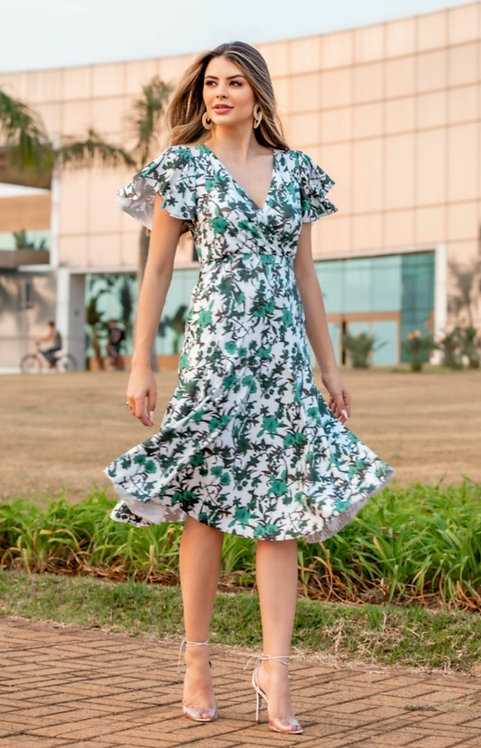 Vestido Midi Sino Bonequim Ref 94221683