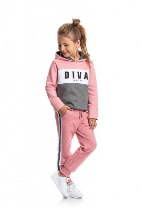 Conjunto Infantil 2 peças Diva Cinza - TMX Cod 2175