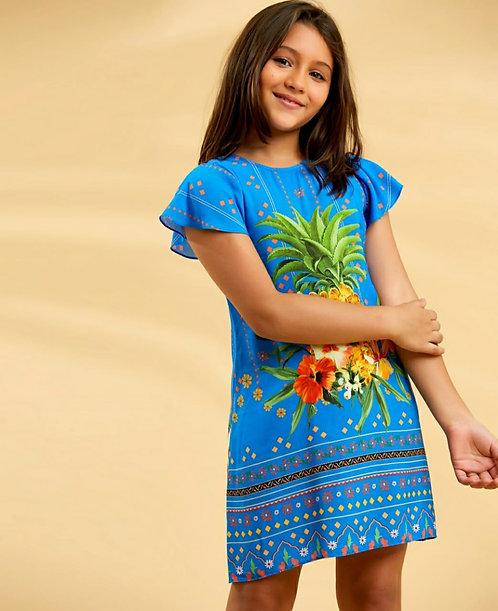 Vestido Salada de Fruta Papaya Ref 10595