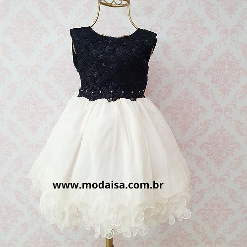Vestido Menina Bonita Chic Noite Cod 1843