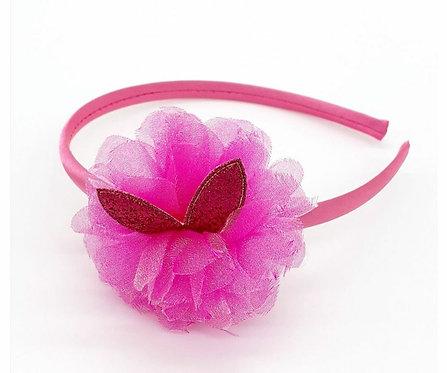 Tiara Infantil Pink ModaIsa Ref 0002