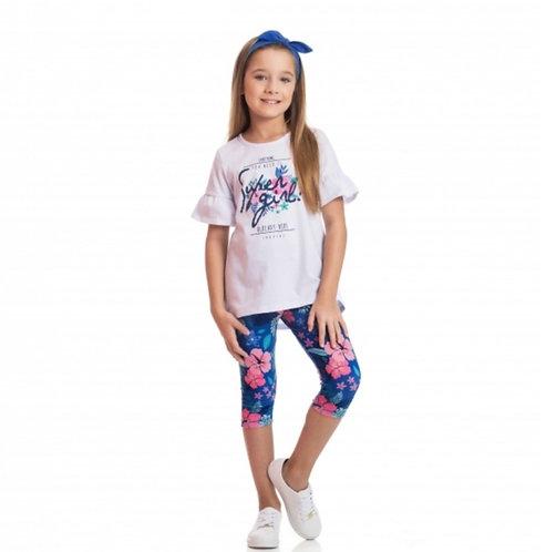 Conjunto Flower Super Girl - TMX Ref 2154