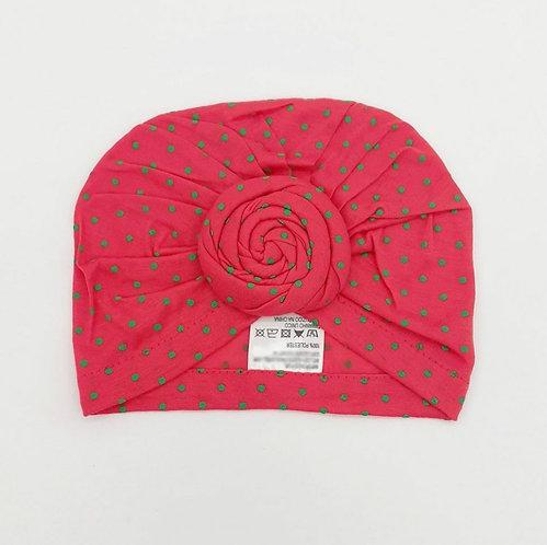 Turbante Rolinho Vermelho ModaIsa Ref 4523