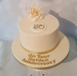 50th Rose