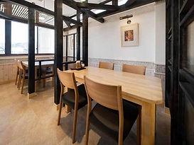 キノコと肉の手作り料理   信州の幸(めぐみ)テーブル席