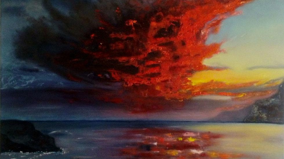"""landscape """"Vor dem Sturm"""""""