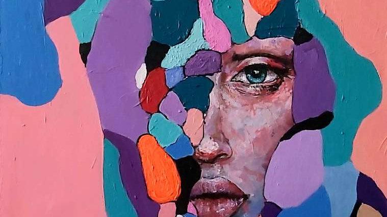 "portrait ""Harlequin"""