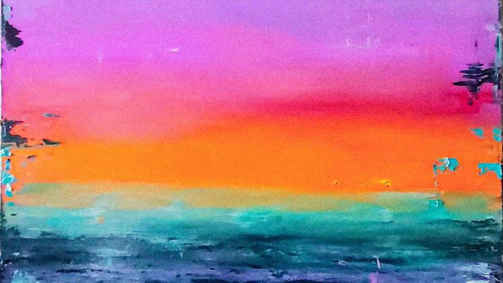 """oil landscape """"Summer"""""""