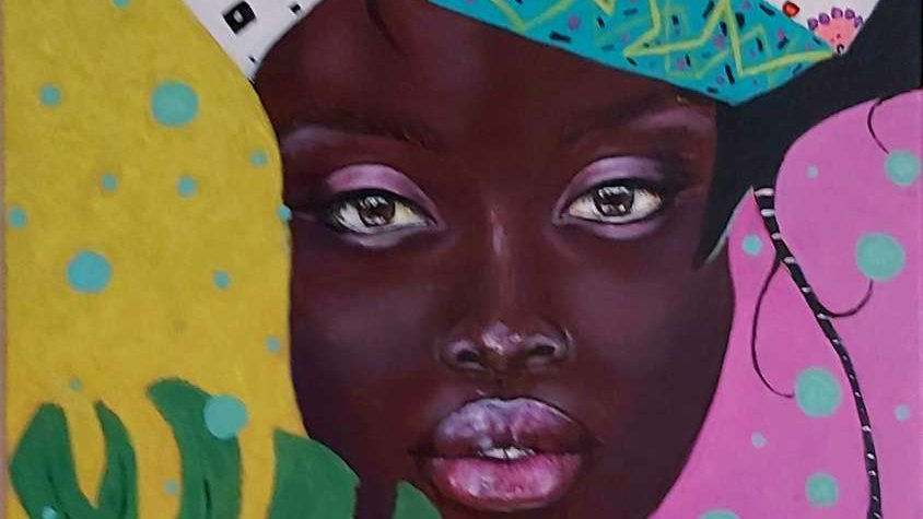 "portrait ""Mama Africa"""