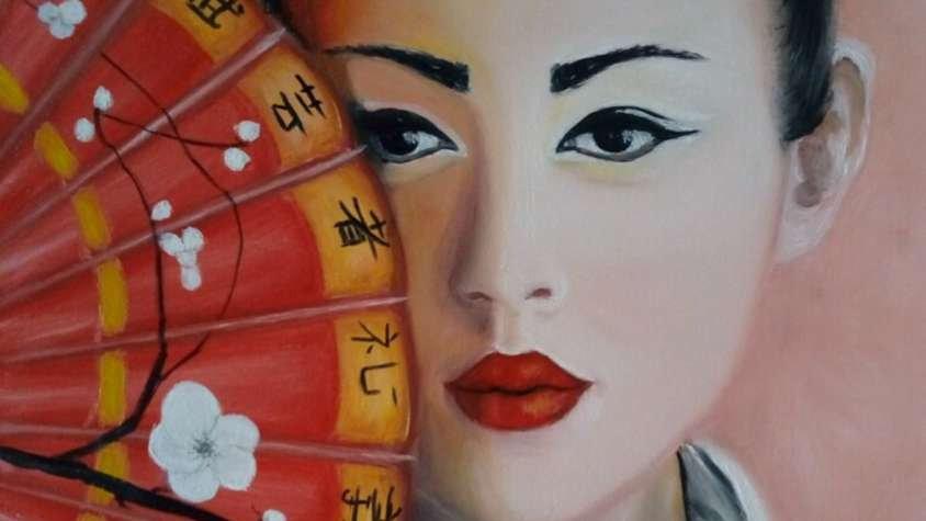 """portrait """"Samurai girl"""""""