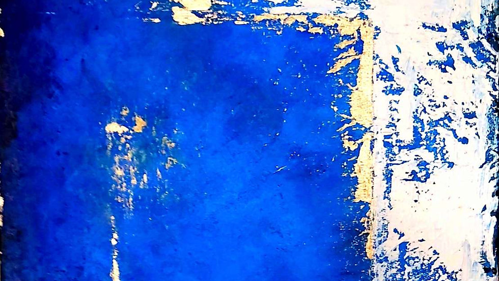 """painting """"Through the Blue"""""""