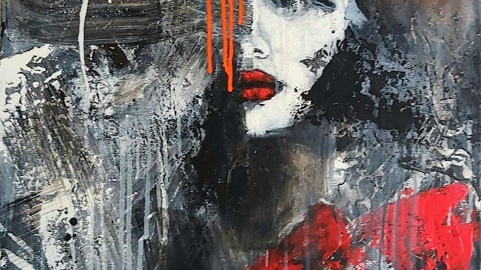 """portrait """"Black Butterfly"""""""