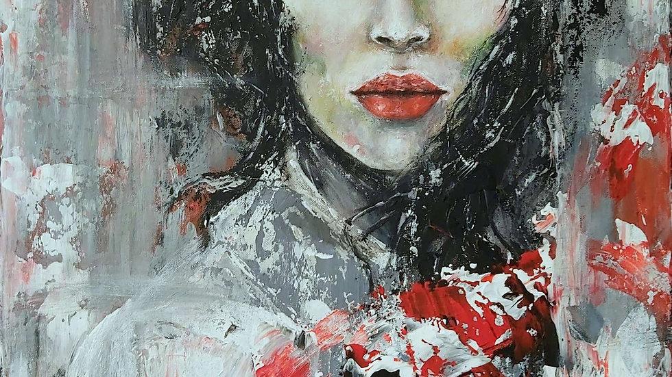 "painting ""Mona"""