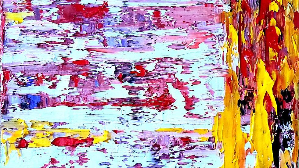 """abstract painting """"Metamorphosis"""""""