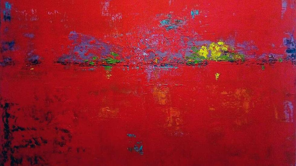 "artwork ""Red sunset"""
