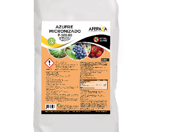 MICRONIZED SULPHUR P300/80 – SPECIAL DRYING