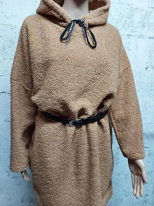 """Robe Pull """"DOUCEUR"""" Beige"""