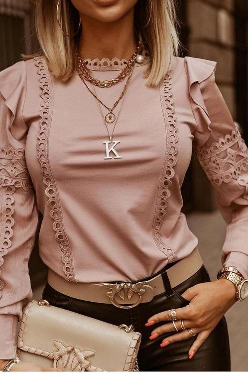"Top "" DENTY "" Vieux Rose"