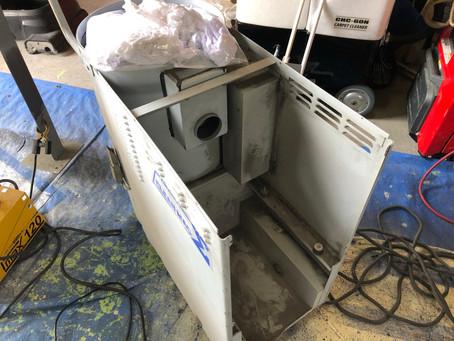 産業掃除機メンテナンス