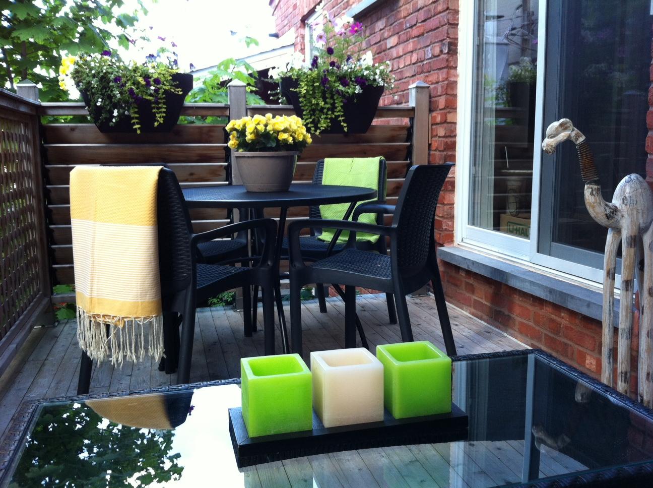 Meubles d 39 ext rieur mobilier de jardin le balconier for Meuble exterieur montreal