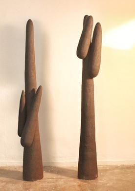 Wheel thrown & sculpted stoneware | 197 cm