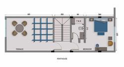 3 Bedroom Villa - Penthouse