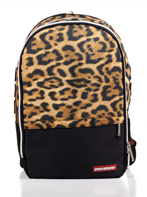 Tashed Mony Leopard polyester Backpack