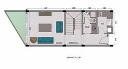 3 Bedroom Villa - Ground Floor
