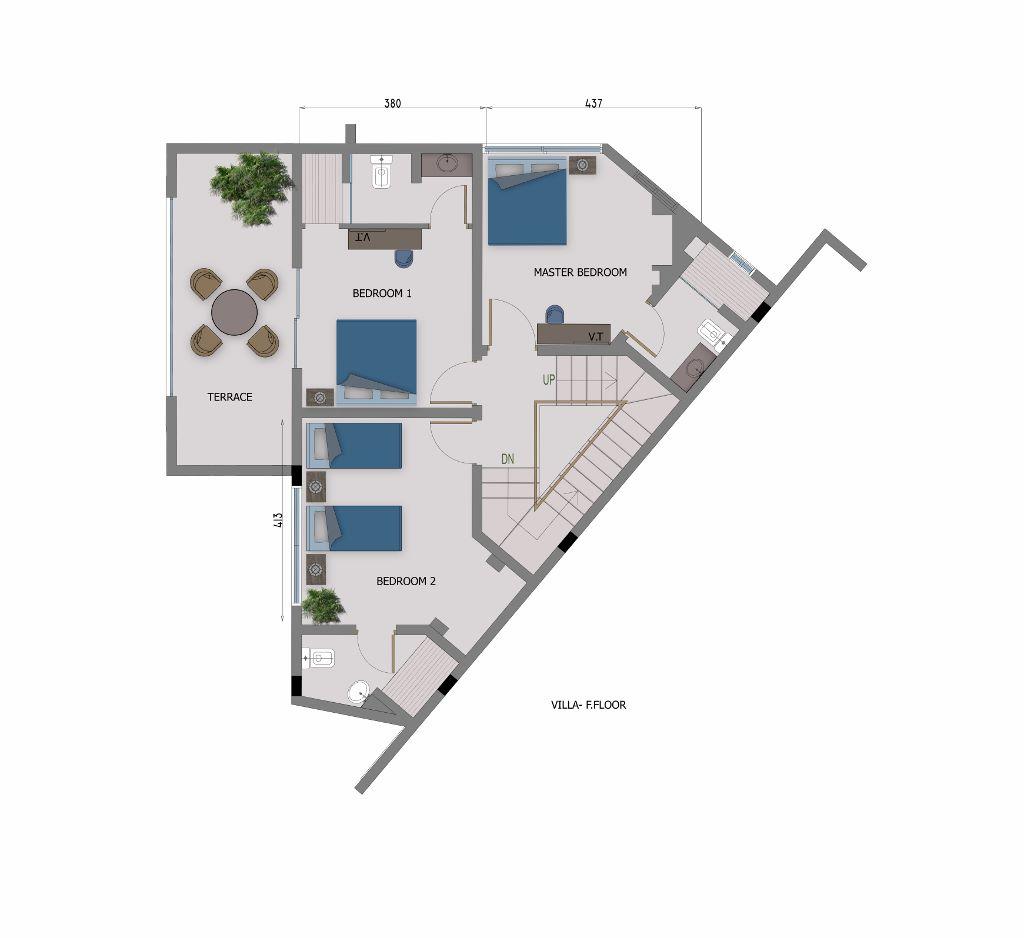 4 Bedroom Villa- 1st Floor