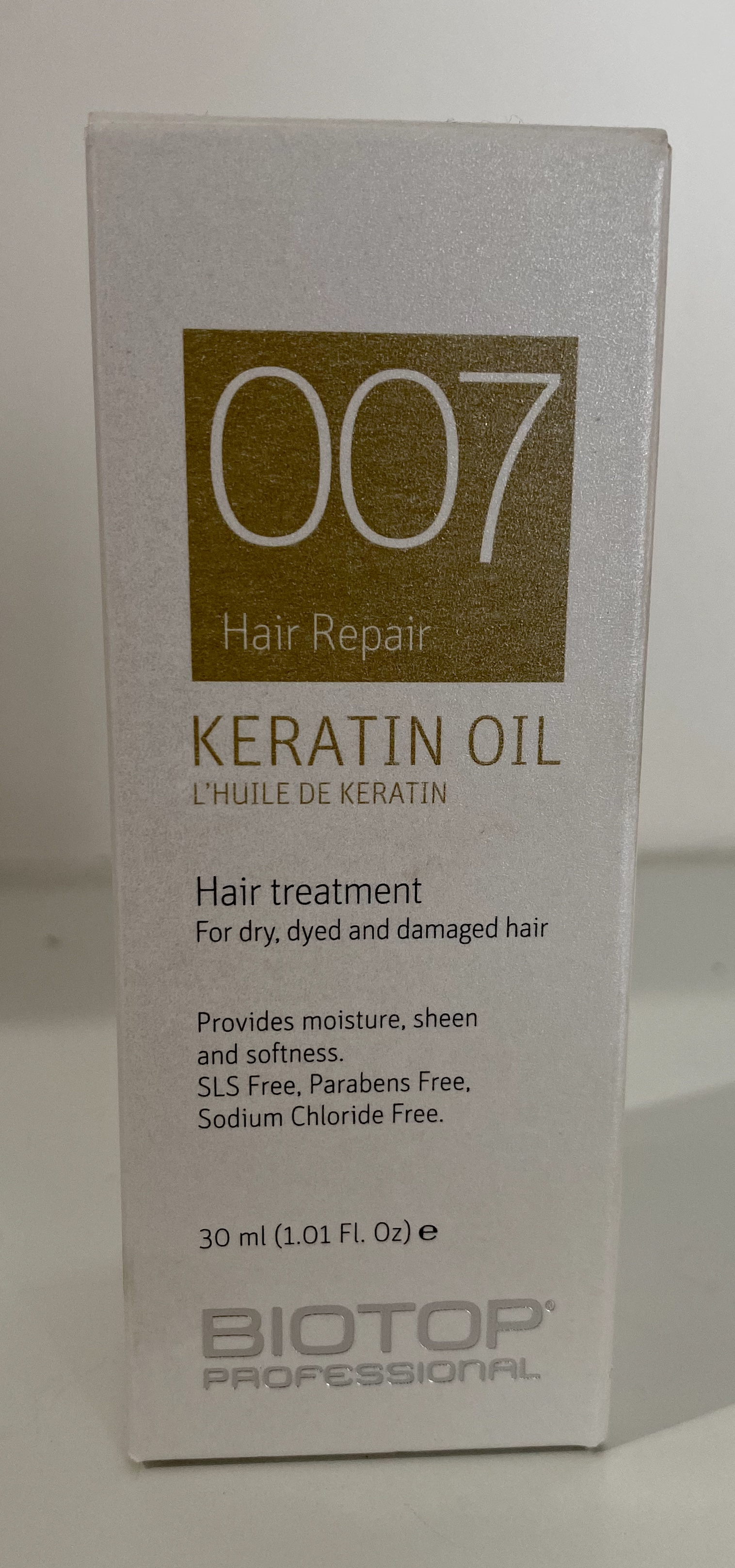 007 Keratin Oil Treatment